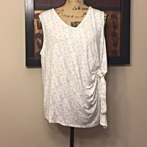 Women's APT. 9 Sleeveless Ruched Side Tank Top